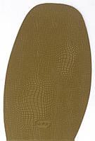Подметка формованная резиновая FAVOR, т. 1.5 мм, р. средний, цв. светло-коричневый (5) khaki