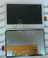 Дисплей для Sony PSP Vita 2000 White с сенсорным экраном