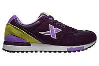 Женские кроссовки Xtep Leisure shoes «Purple green»Р. 36 37 41