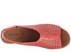 Сандали/Вьетнамки (Оригинал) Rockport Briah Perf Sling Coral Leather, фото 3
