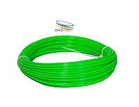 АБС пластик для 3д ручки, зеленый неоновый, 40 метров