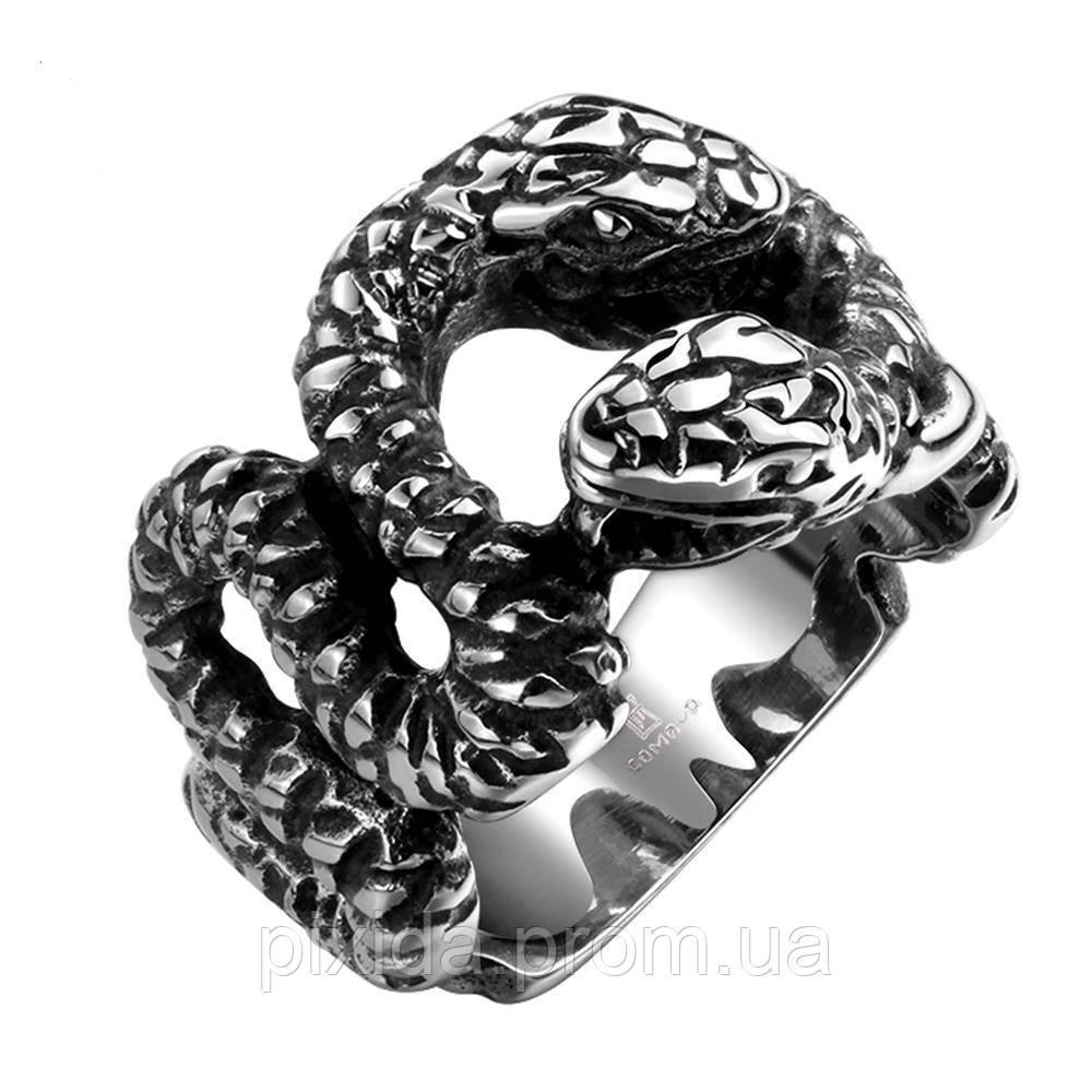 Кольцо нержавеющая сталь Кундалини (Змеиная сила)