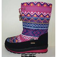 Зимние сапоги для девочки, 31 размер, теплые дутики