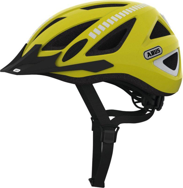 Велосипедный шлем Abus URBAN-I 2.0 Signal yellow L