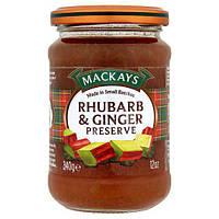 Mackays Rhubarb&Ginger Preserve