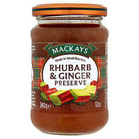 Mackays Rhubarb&Ginger Preserve 340 g