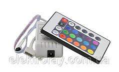 Контроллер RGB IR инфракрасный 6А (24 кнопки на пульте)