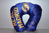 Подушка 35 х 30 см с символикой ФК Реал Мадрид