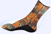 Неопреновые гидро носки для дайвинга и подводной охоты Bs Diver camolex 3 mm