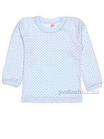 Кофточка для малышей Татошка 04604 интерлок голубой в горох 110