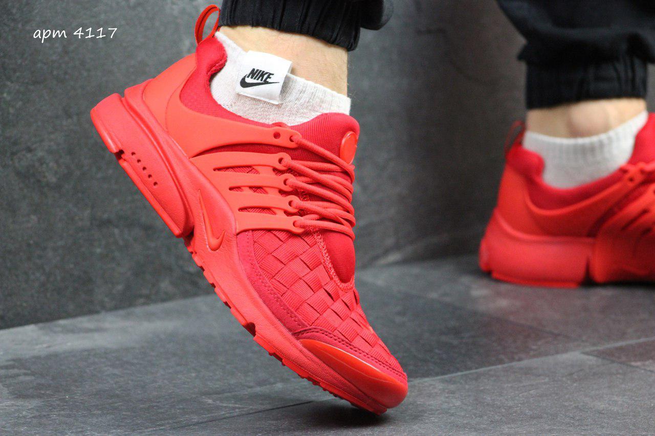 Красные кроссовки Nike Air Presto TP QS, мужские и женские - Интернет  магазин Модный мир 452f09e516c