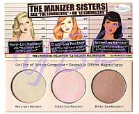 Палетка хайлайтеров theBalm The Manizer Sisters УЦЕНКА