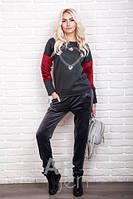Модный женский батник на флисе p.44-48Ar83090-2
