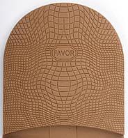 Набойка резиновая FAVOR, т. 6.6 мм, р.средний, цв. бежевый (13) beige