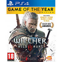 The Witcher 3 Wild Hunt Издание года PS4