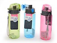Бутылка для воды Fissman 500 мл (Пластик), фото 1
