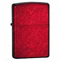 Бензиновая зажигалка Zippo 21063 Candy Apple Red (ярко-красная карамель).