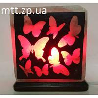 Соляной светильник «Бабочки»