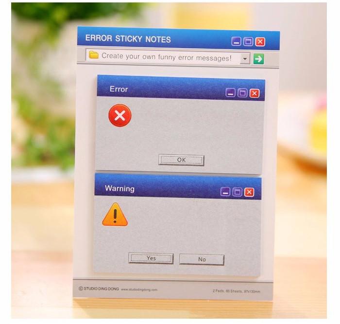 Стикеры наклейки для заметок: всплывающие окна Windows!