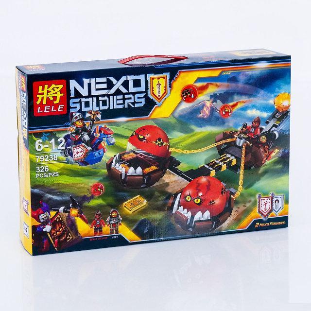 """Конструктор Nexo Knights Lele 79238 """"Безумная колесница Укротителя"""" 326 деталей"""
