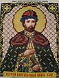 Набор для вышивки бисером ArtWork икона Святой Благоверный Князь Олег VIA 5083, фото 2