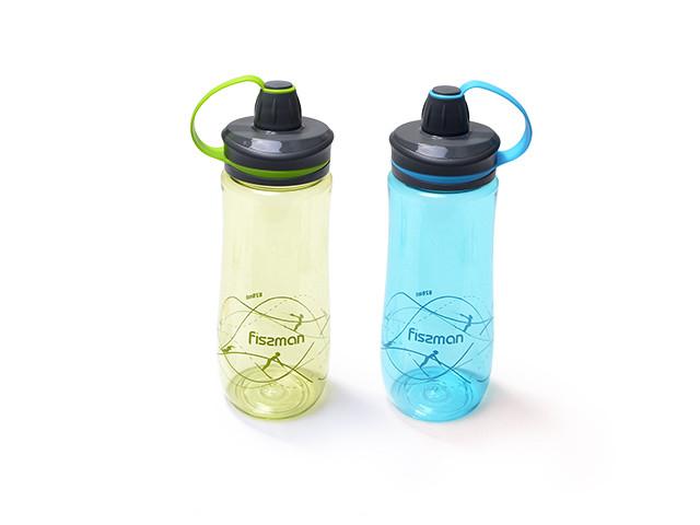 Бутылка для воды Fissman 820 мл (Пластик)