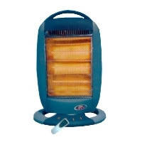 Галогенный обогреватель Crown 1200w NSB-L-120HR Halogen Heater С пультом Галоген