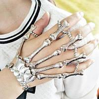 Оригинальное украшение: перчатка скелет руки! Браслет из костей!, фото 1
