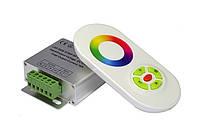 Контроллер RGB RF радио 18А (сенсорный пульт) белый