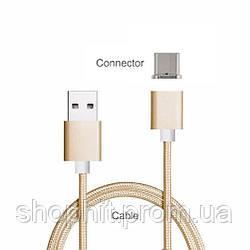 Магнитный кабель Type-C для зарядки Samsung Galaxy S8 G950 / S8 Plus G955