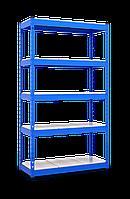 АКЦИОННЫЙ Стеллаж МКП на зацепах (2160х1110х500) 7 полок, крашенный СЕРЫЙ