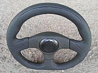 Руль кожанный №048 с переходником на ВАЗ 2110., фото 1