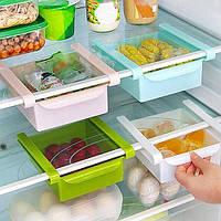 Дополнительные ящики органайзеры для холодильника! Стеллажи в холодильник!