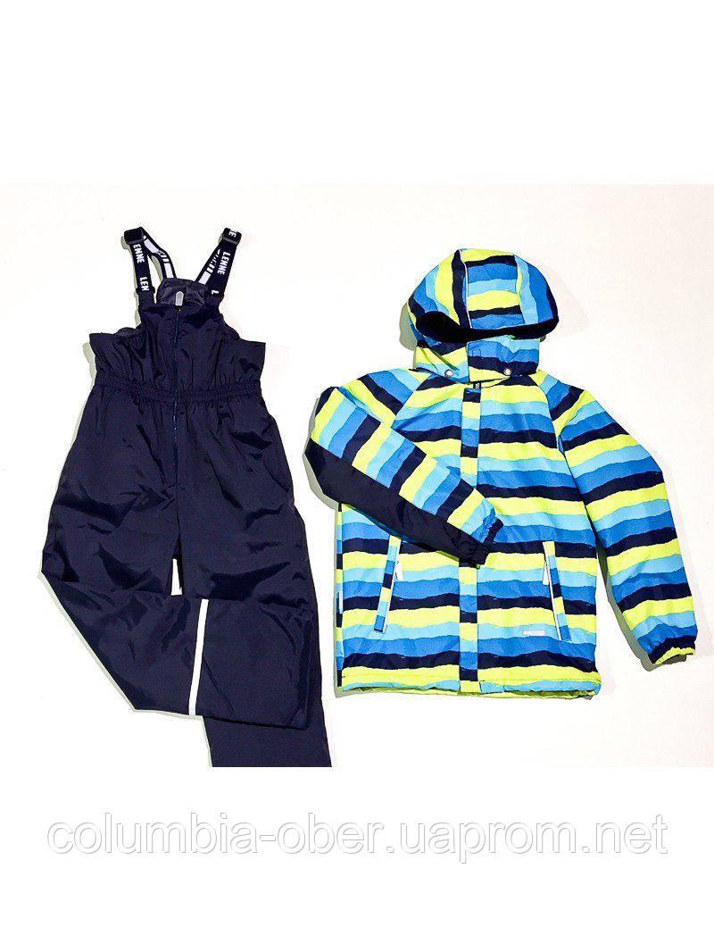 Демисезонный утепленный костюм для мальчика Lenne AUGUST 18230 - 6370. Размеры 104 - 128.