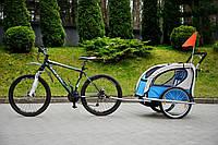 Туристический велотрейлер (велоприцеп) 2 пассажирский JOGGER 2in1, фото 1