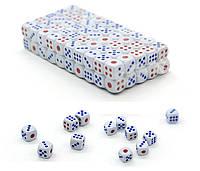 Кубики игральные 100 шт (зарики огромные)