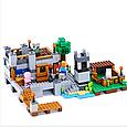 """Конструктор лего майнкрафт Аналог Lego Minecraft Lele 33191 """"Береговая цитадель"""" 517 дет, фото 5"""