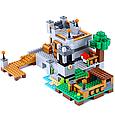"""Конструктор лего майнкрафт Аналог Lego Minecraft Lele 33191 """"Береговая цитадель"""" 517 дет, фото 6"""