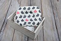 """Подушка для новорожденных малышей """"зайчики"""" MagBaby"""