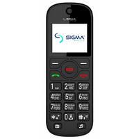"Телефон Sigma mobile Comfort 50 Senior Black, 2sim, экран 1.77"", 1000mAh."