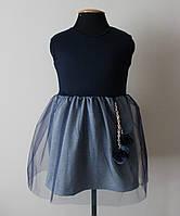 Детское платье сарафан для девочки 5-6 лет с фатином