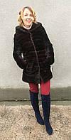 Шуба норковая поперечка Модель 20024 40