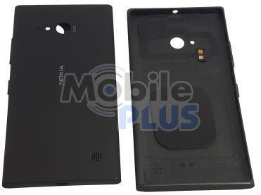 Батарейная крышка для Nokia 730, 735, RM-1038, RM-1039 Black
