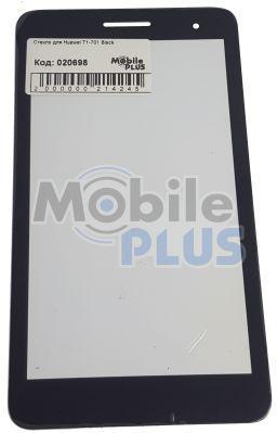 Стекло для переклейки дисплея Huawei T1-701 Black
