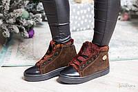 Женские стильные теплые зимние ботинки (3 цвета)