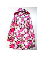Демисезонное пальто для девочки LENNE POLLY  18235 -1270. Размеры 116 - 134.