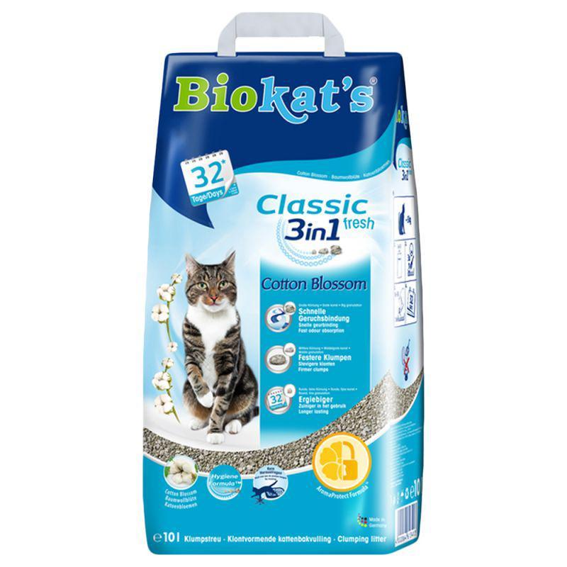 Песок Biokats FIOR de COTTON 3in1 5 кг