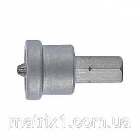Біта РН 2x25 мм з обмежувачем для ГКЛ, 2 шт, CrMo Сибртех