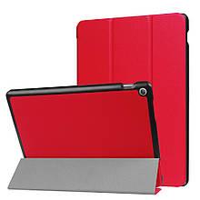 Чехол подставка Crazy Horse Pattern Smart для Asus ZenPad 10 Z301MFL красный