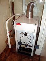 Чистка от сажи отечественных газовых котлов  специальным сажеулавливателем г. Луцк